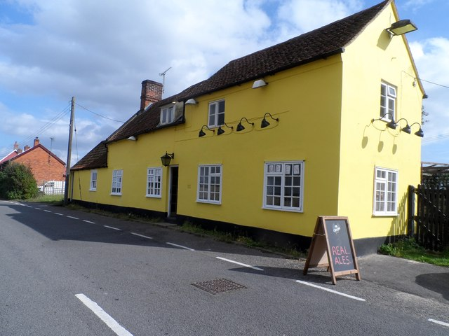 The Wheatsheaf pub, Tattingstone