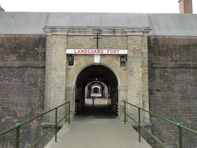 Entrance to Landguard Fort