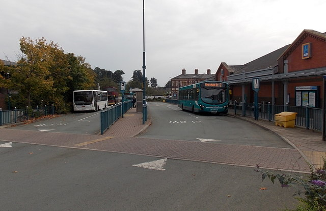 Oswestry Bus Station