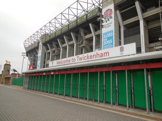 Twickenham West Stand