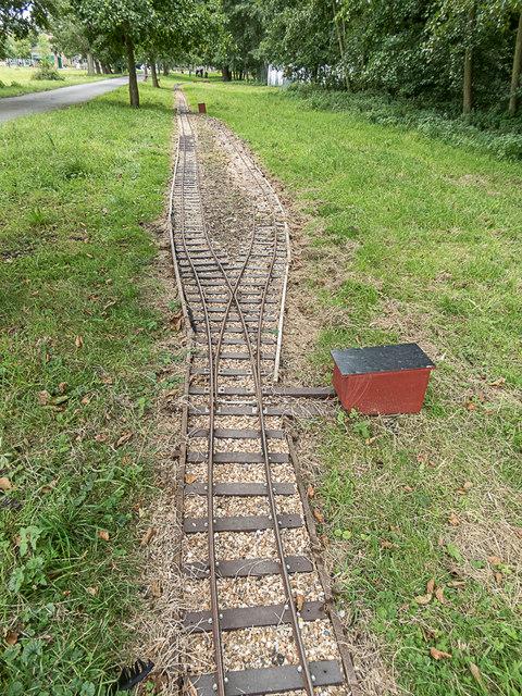Narrow Gauge Track, Royal Gunpowder Mills, Waltham Abbey