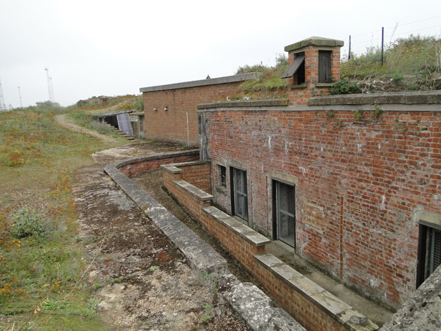 The Landguard Left Battery