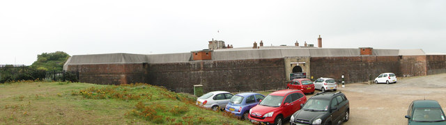 Landguard Fort from the north