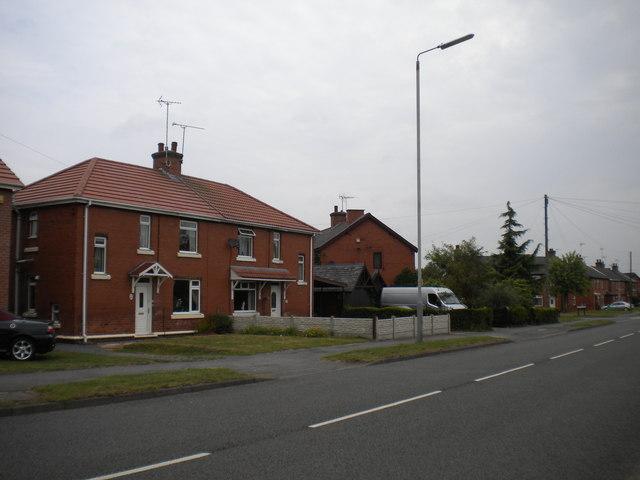 Houses on Main Road, New Ollerton