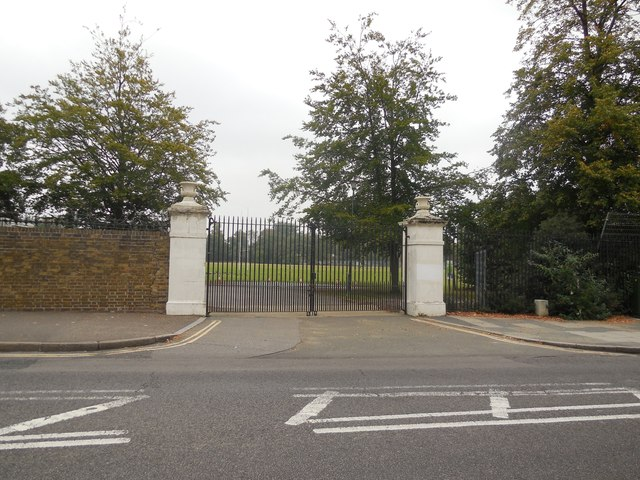 Gates of Kneller Hall