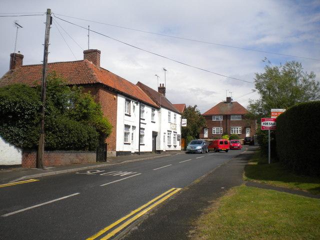South end of East Lane, Edwinstowe