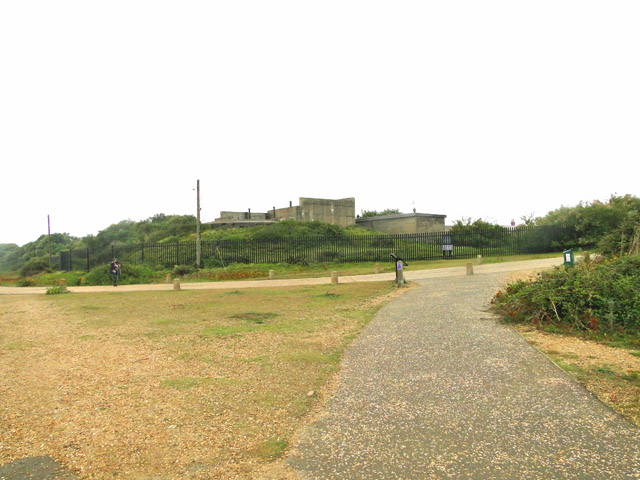 WW2 defences at Landguard