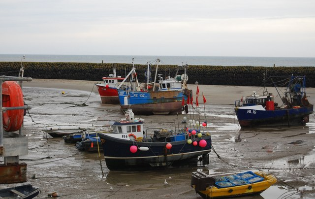 Fishing boats, Folkestone Harbour