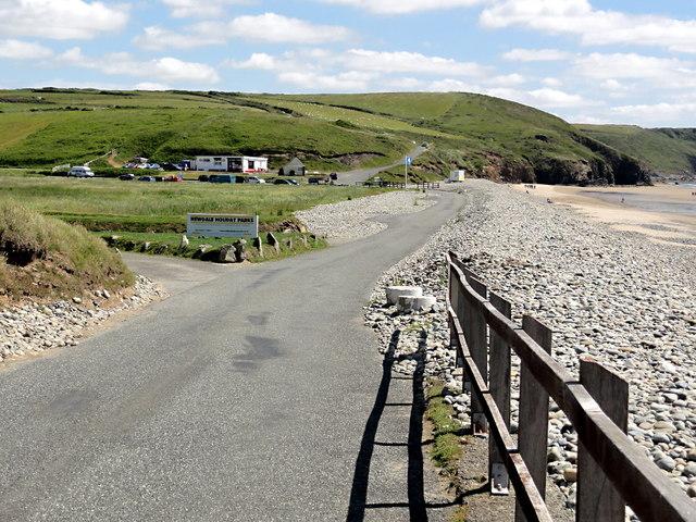 Road Along a Shingle Ridge