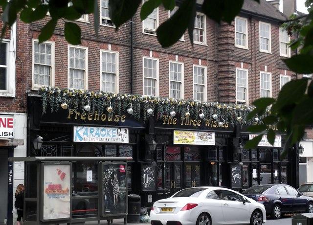 The Three Wishes, High Street, Edgware