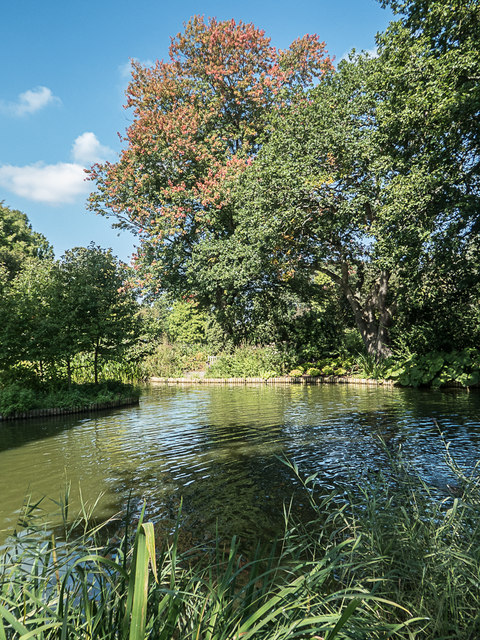 Lake, Royal Horticultural Society Garden, Wisley