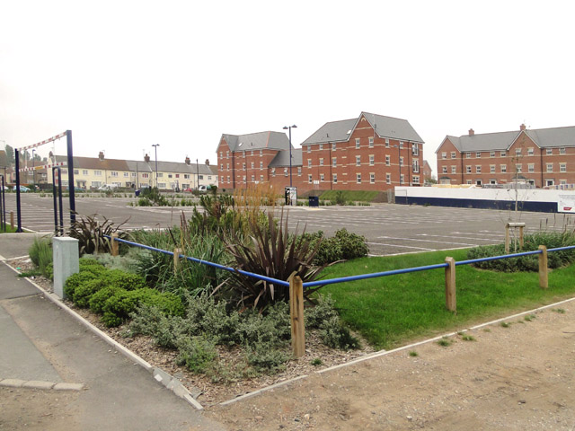 Car Park and new buildings