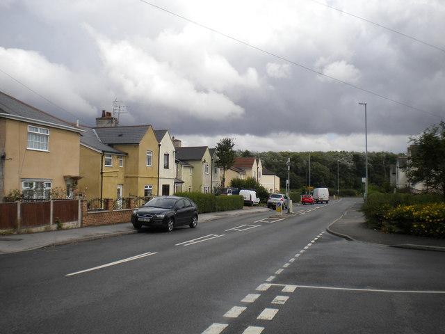 East end of Mickledale Lane, Bilsthorpe