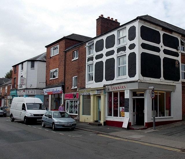 Jeanies Cafe in Oswestry