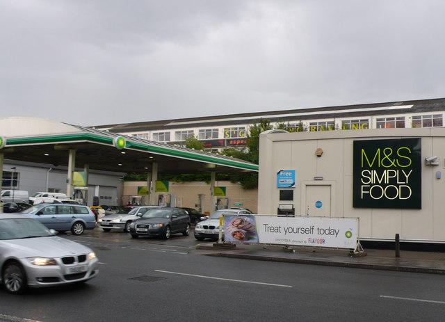 Petrol Station on Pinkham Way