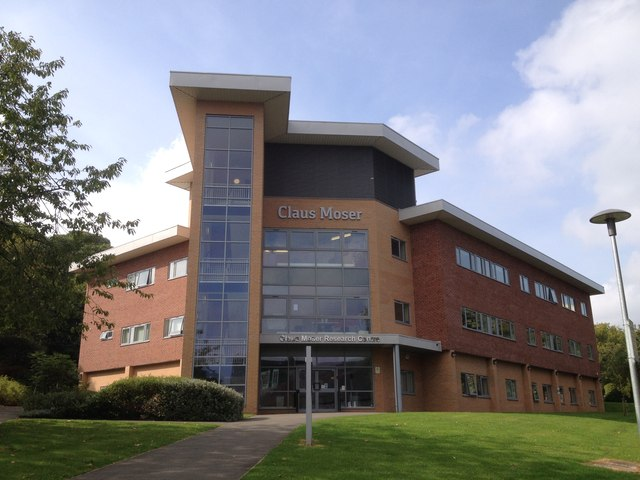 Claus Moser Building, University of Keele