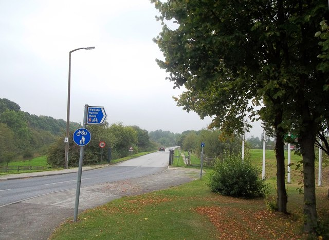 Entrance to Rother Valley Country Park