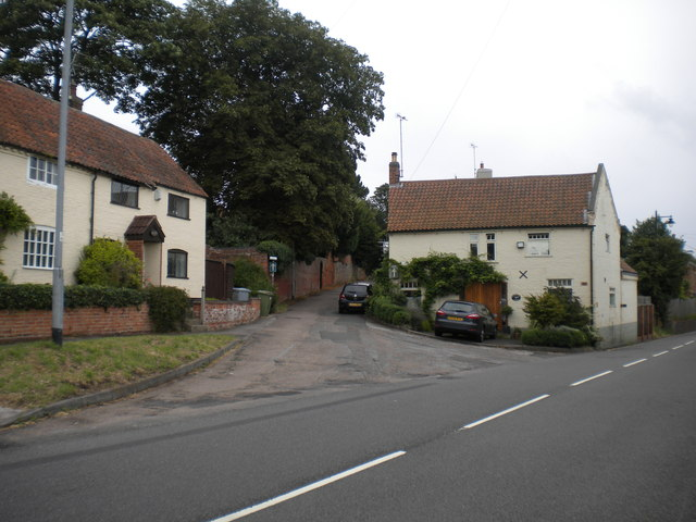 Bottom of Chapel Lane, Farnsfield