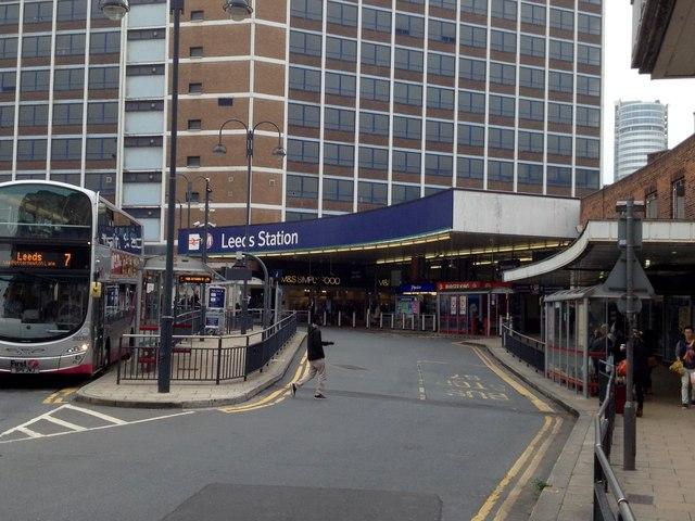 Leeds Station Approach