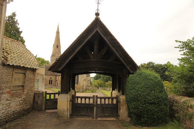 St.John the Baptist's church lychgate