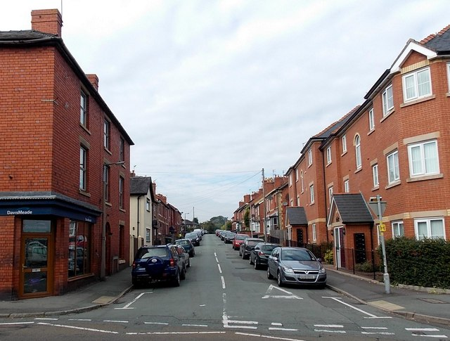 Gittin Street, Oswestry
