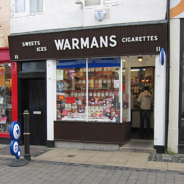Warmans sweet shop