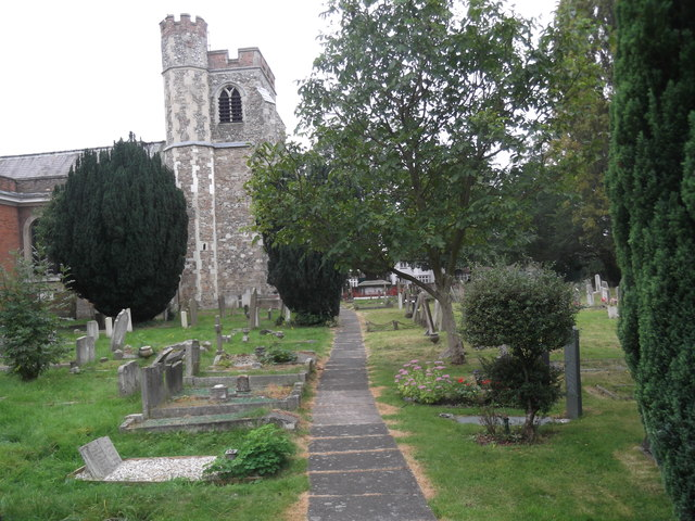 St Lawrence churchyard, Whitchurch Lane, Edgware
