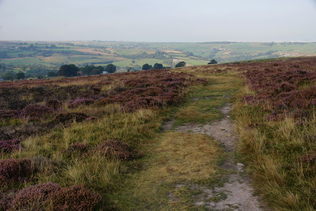 Bridleway on Glaisdale Low Moor