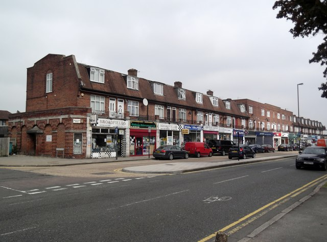 Parade of shops, Whitchurch Lane, Canons Park