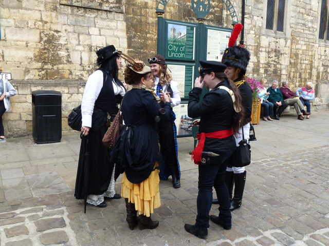 Steampunk festival in Lincoln 2014 - Photo 39