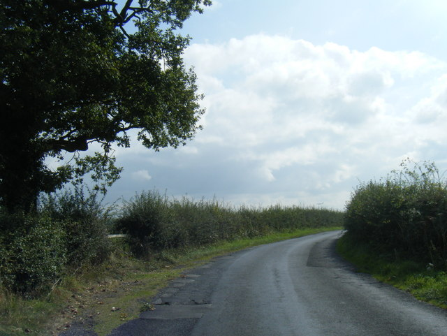 Cherry Tree Lane looking east
