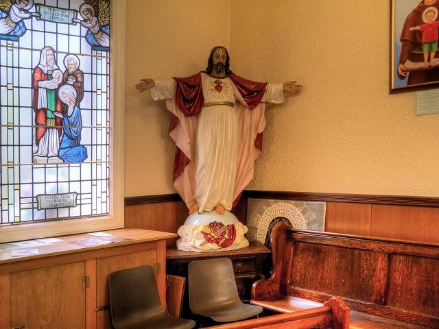 St Antony's Church - Inside the Tin Tabernacle (2)
