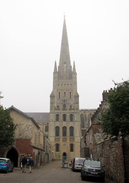 Spire of Norwich Cathedral
