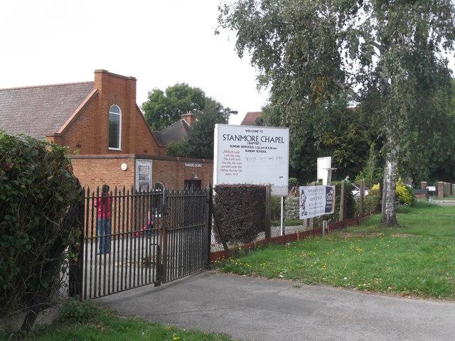 Stanmore Chapel, Marsh Lane