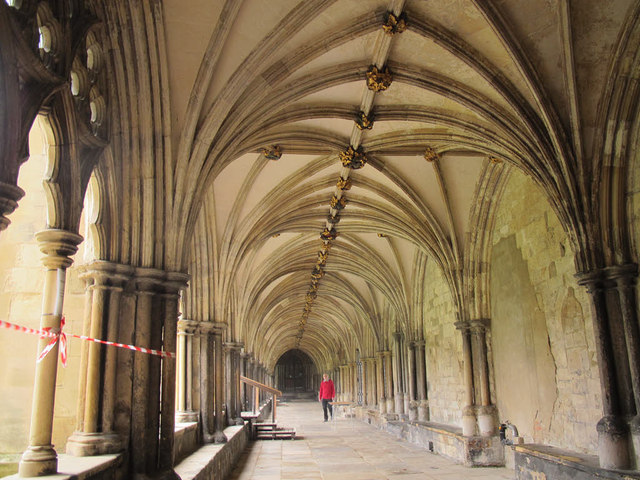 Norwich cathedral cloisters