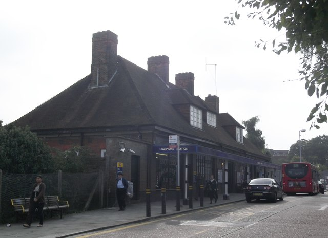 Stanmore Underground Station, London Road