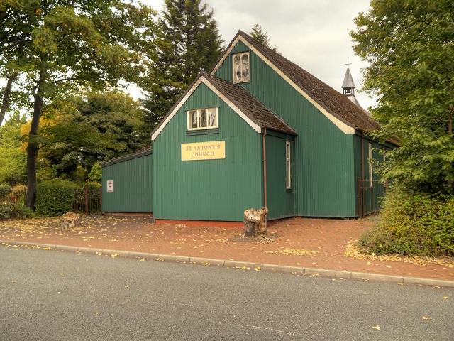Trafford's Tin Tabernacle, St Antony's Church