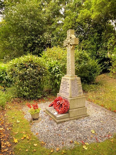 War Memorial at St Antony's Church
