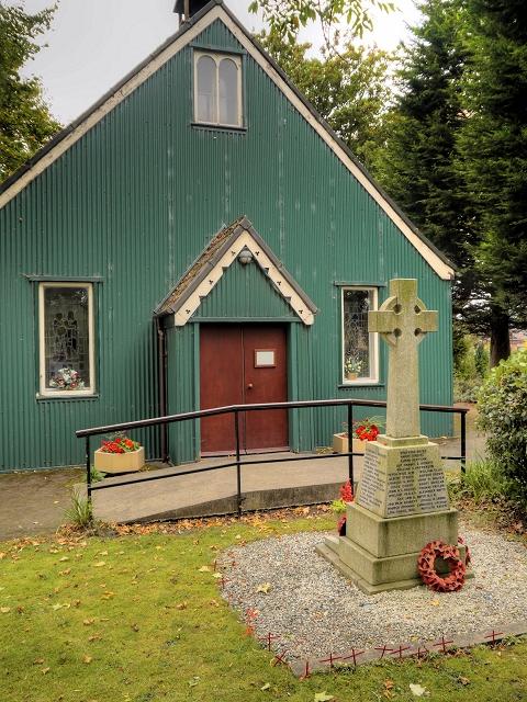 St Antony's Church and War Memorial, Trafford Park