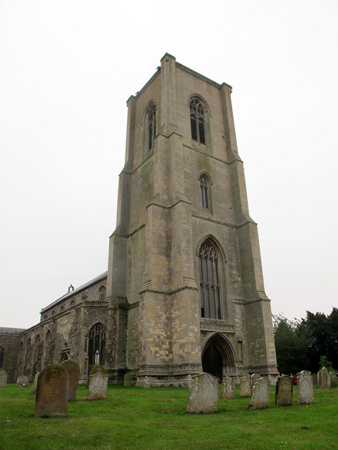 Cawston, St Agnes: tower