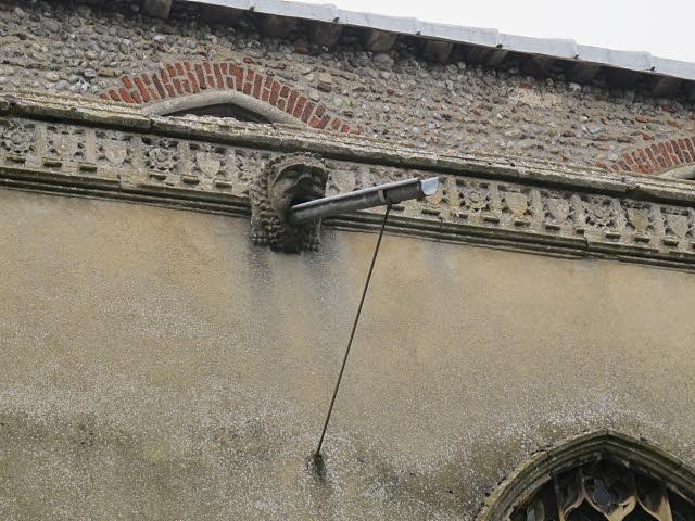 Cawston, St Agnes: gargoyle