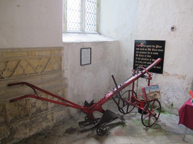 Cawston, St Agnes: plough