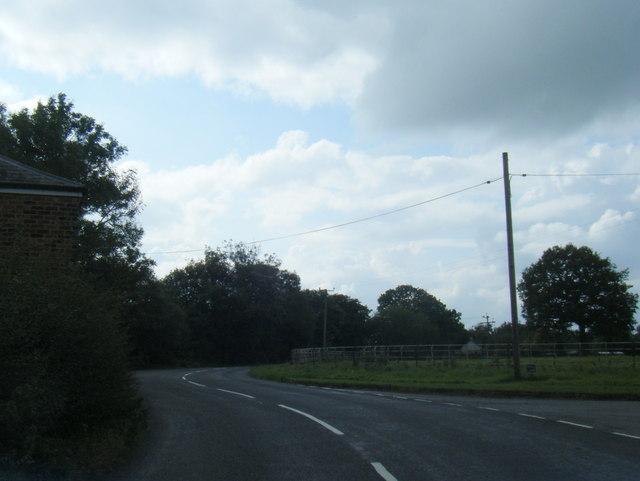 Pickmere Lane/Hall Lane junction