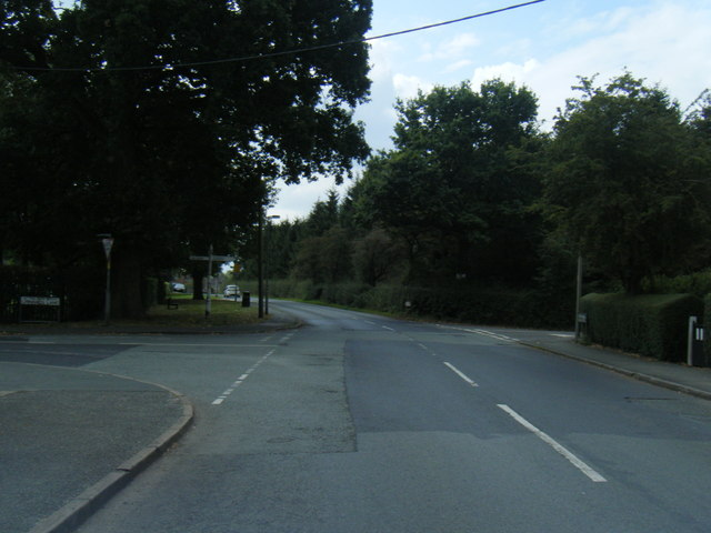 B5391 at Linnards Lane