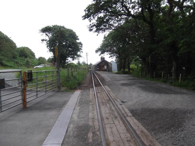 Ffestiniog railway track