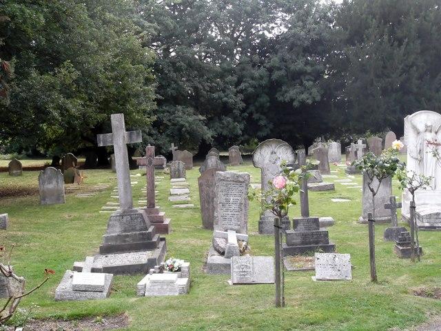 Graves, St John's Churchyard, Rectory Lane, Stanmore