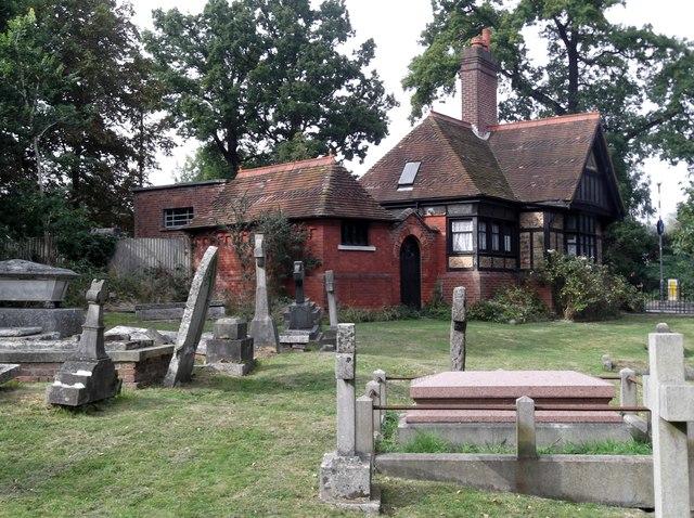 Gatehouse, St John's Churchyard, Uxbridge Road, Stanmore