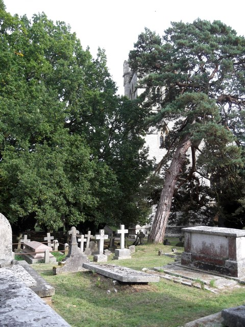 Graveyard, St John's Church, Uxbridge Road, Stanmore