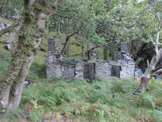 Abandoned dwelling in Dinorwic Quarry