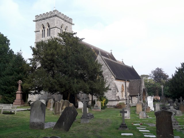 St John's Churchyard, Rectory Road, Stanmore